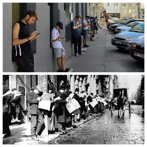Pedestrian Evolution?